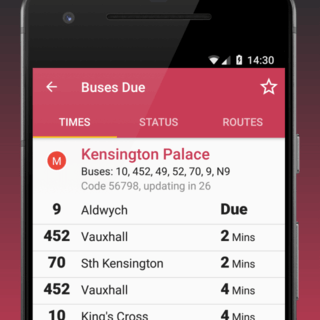 Buses Due - London Bus tracker